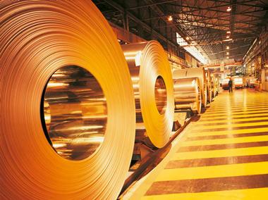 ایمن صنعت پرشین، تهویه صنعتی سالن های نورد ورق