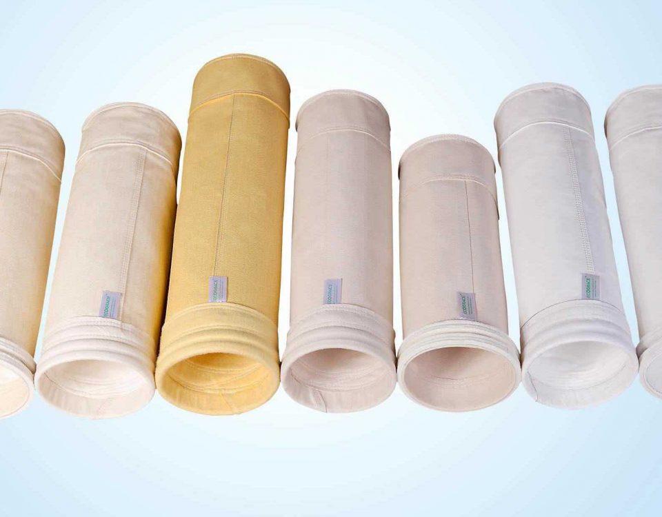 انواع فیلتر کیسه ای - بگ فیلتر - غبارگیر صنعتی